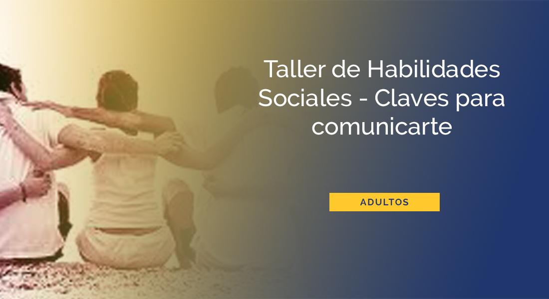 taller habilidades sociales Barcelona