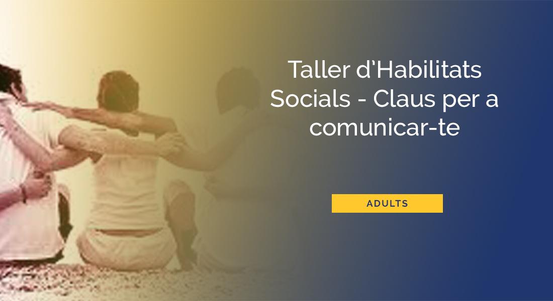 taller habilitats socials Barcelona